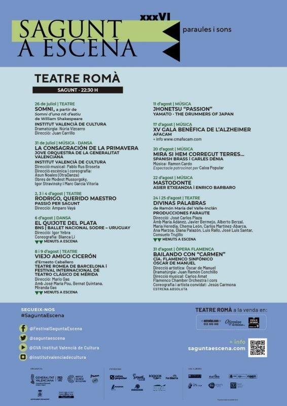 Sagunt A Escena Teatre Roma 2019