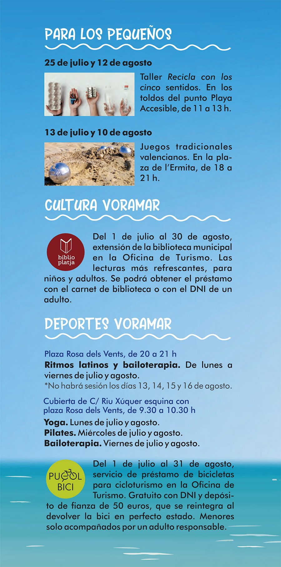 Verano Playa Puçol 2019 Programacion 2