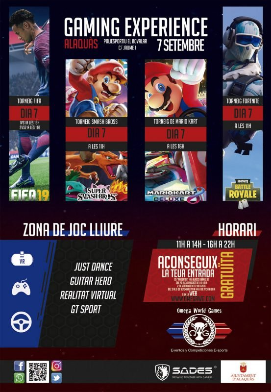Alaquas Gaming Experience 2019