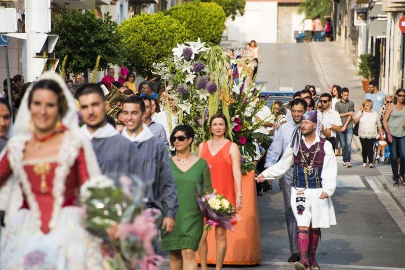 Benissano Ofrenda Fiestas