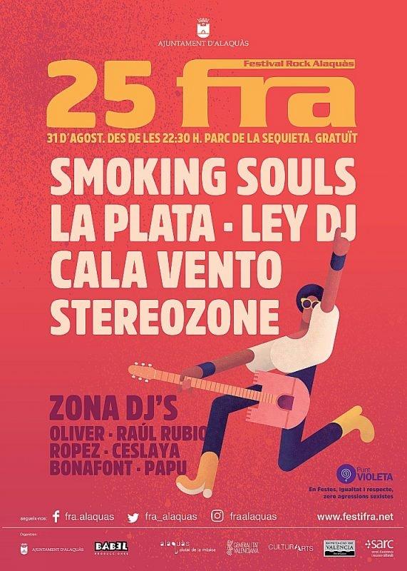 Festival Rock Alaquas 2019 Cartel