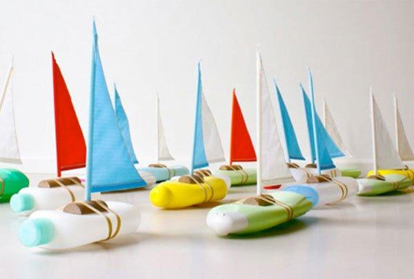 Manualidades Recicladas Barcos
