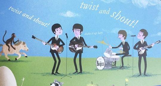 Matisse Beatles Banner
