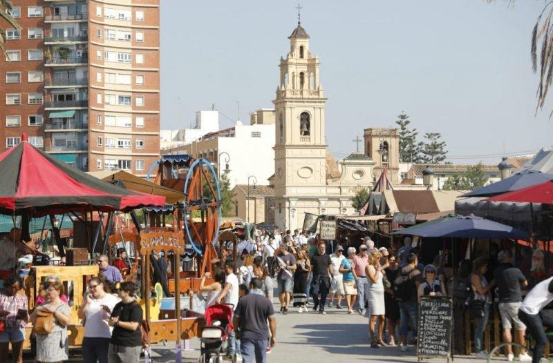 Mercado Medieval Jaume Valencia 1