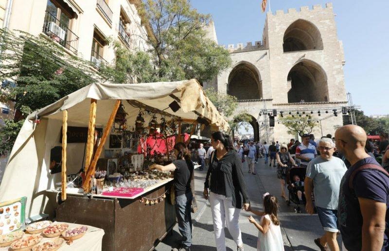 Mercado Medieval Jaume Valencia 2
