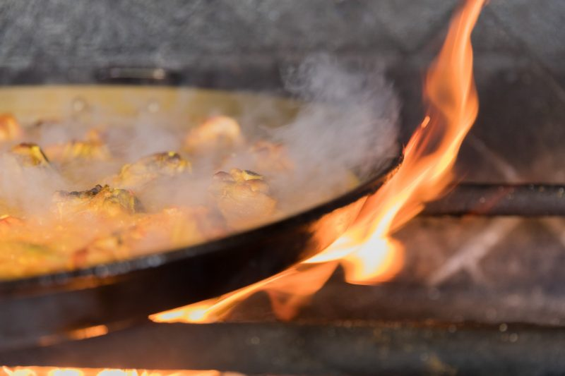 Paella Fuego