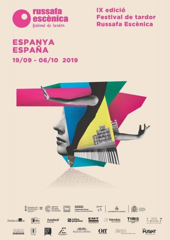 Russafa Escenica 2019 Cartel