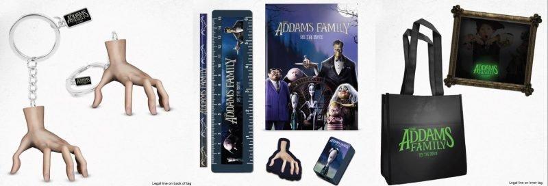 Familia Addams Merch