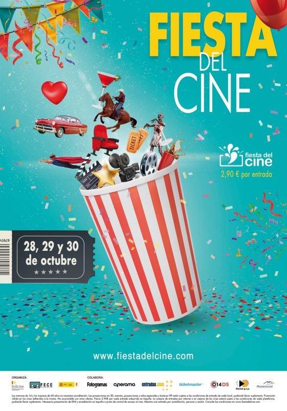 Fiesta Cine Octubre 2019