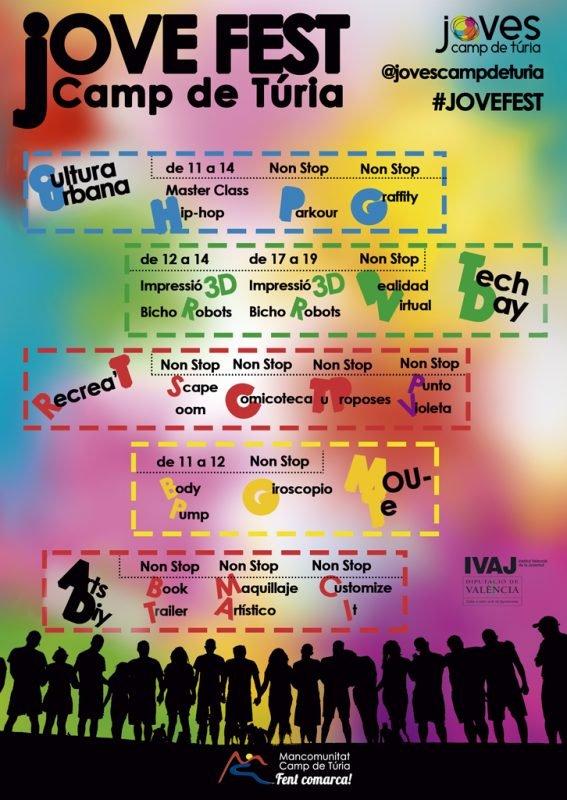 Jovefest Camp Turia 2019 Actividades