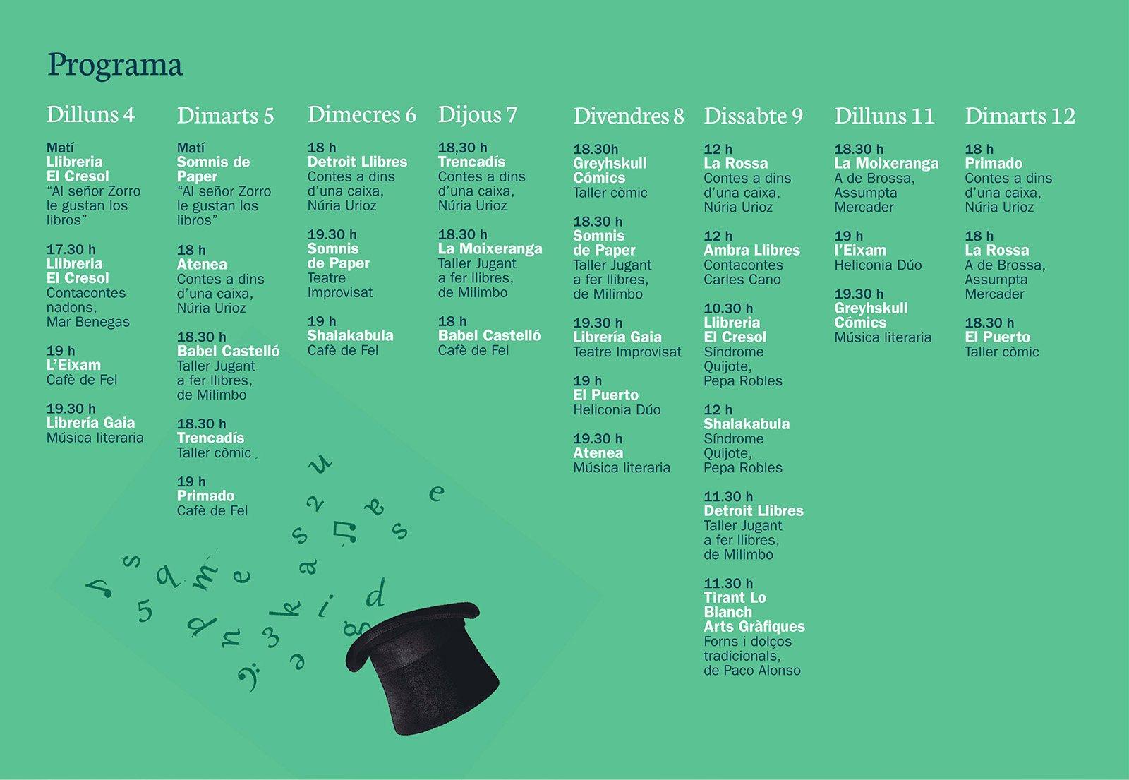 Lliberies Fest 2019 Programacion