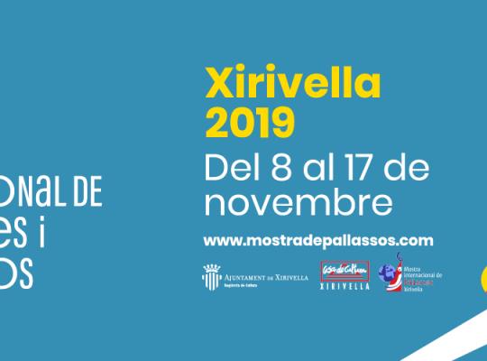 Mostra Pallassos Xirivella 2019 800x240px