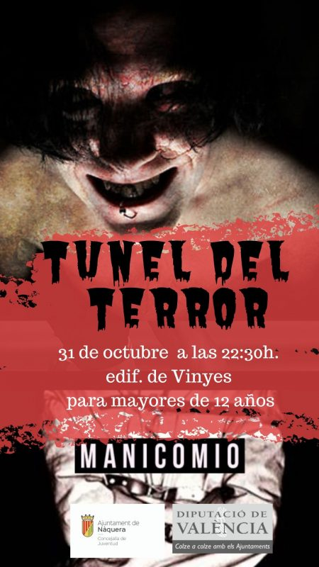 Tunel Terror Naquera 2019