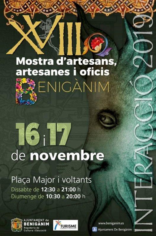 Mostra Artesans Benigànim 2019 Cartel