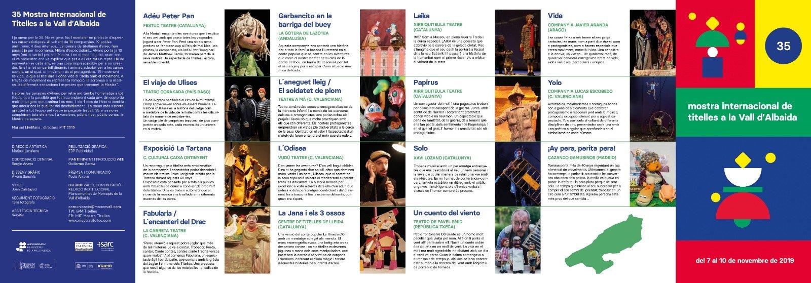 Mostra Titelles Vall Albaida 2019 Mostres