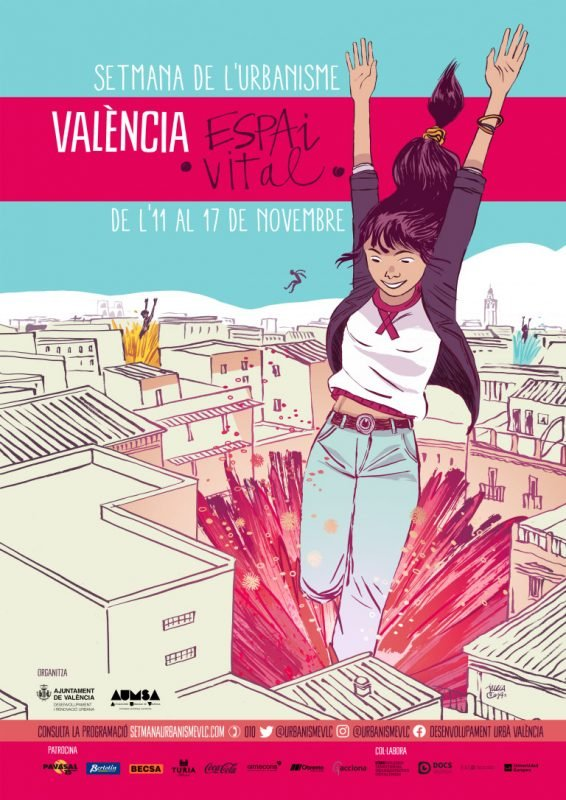 Semana Urbanismo Valencia 2019 Cartel