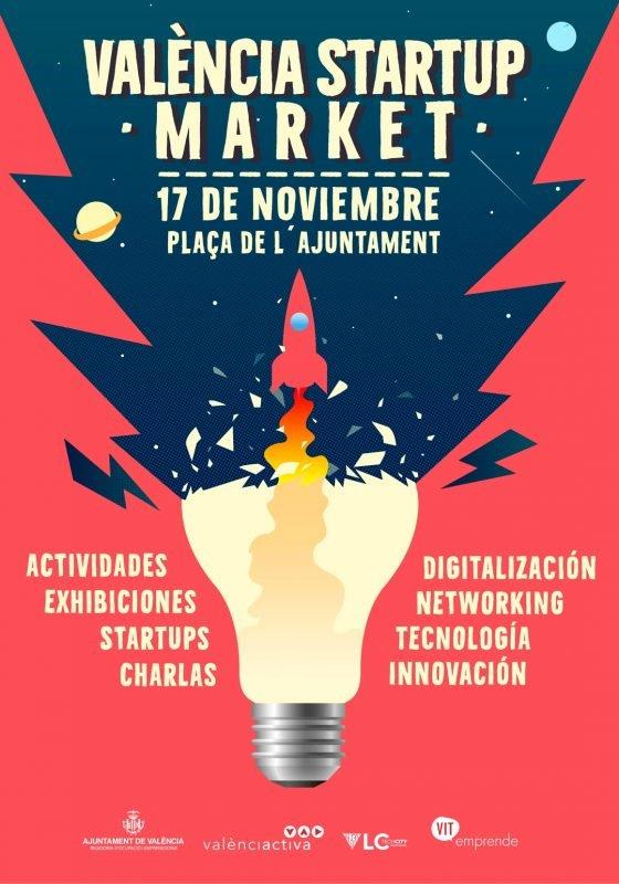 Valencia Startup Market 2019 Cartel