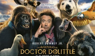 Aventuras Doctor Dolittle Cartel Horizontal