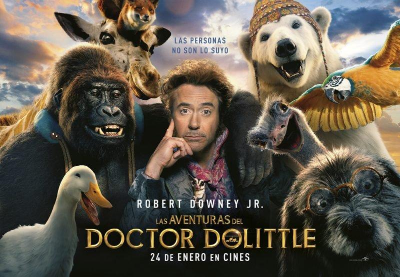 Aventuras Doctor Dolittle Cartel Horizontal