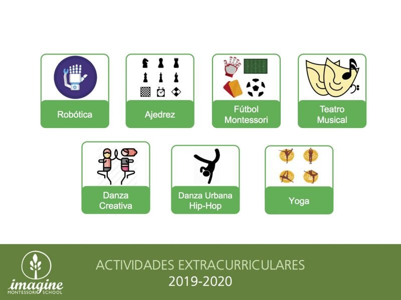Extracurriculares Imagine Montessori School