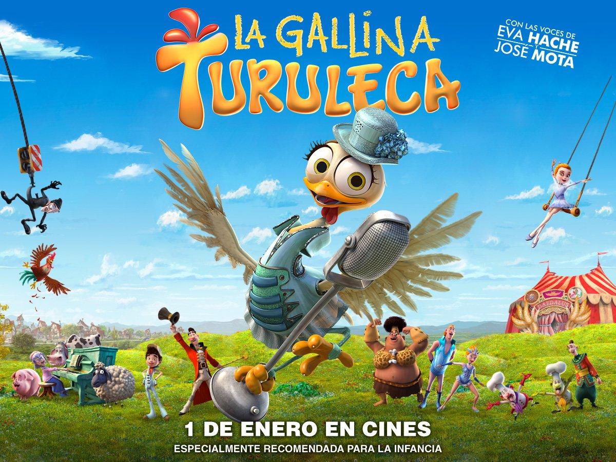 La Gallina Turuleca Poster Horizontal