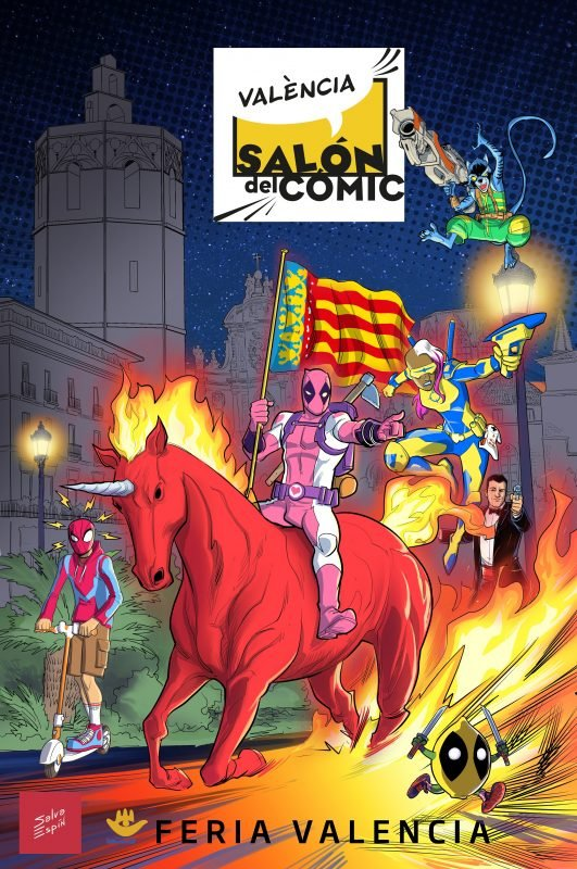 Salon Comic Valencia Cartel