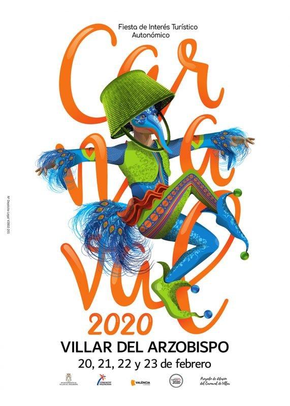 Carnaval Villar Arzobispo Cartel 2020