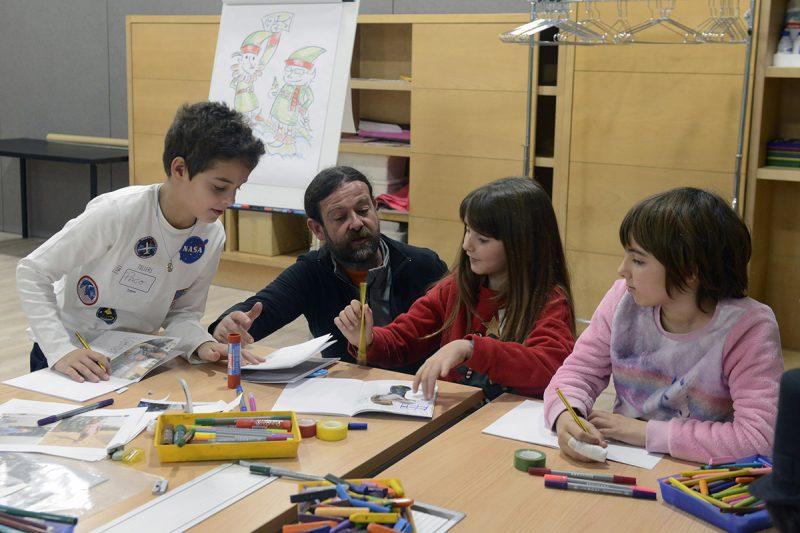 Fundacion Bancaja Talleres Infantiles Scrapbooking