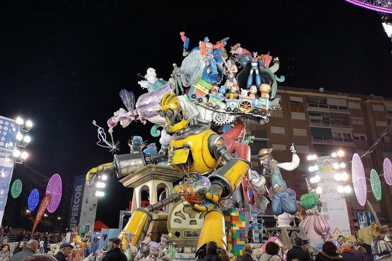 Falla Antiga 2019 Valencia
