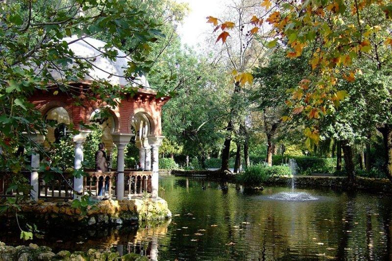 Sevilla Parque Maria Luisa