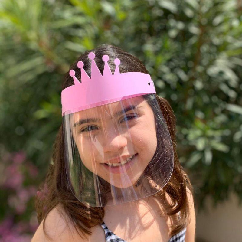 Proteccion Facial Niños Corona 03
