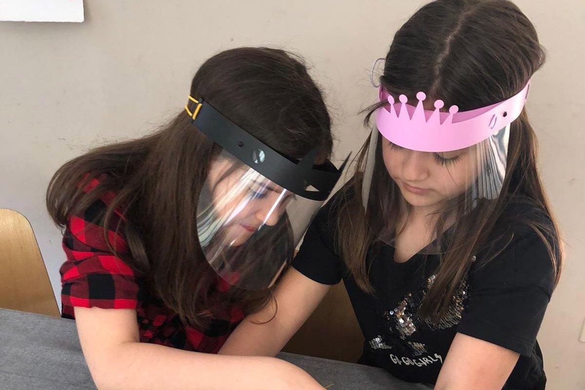Proteccion Facial Niños Superheroe 04b