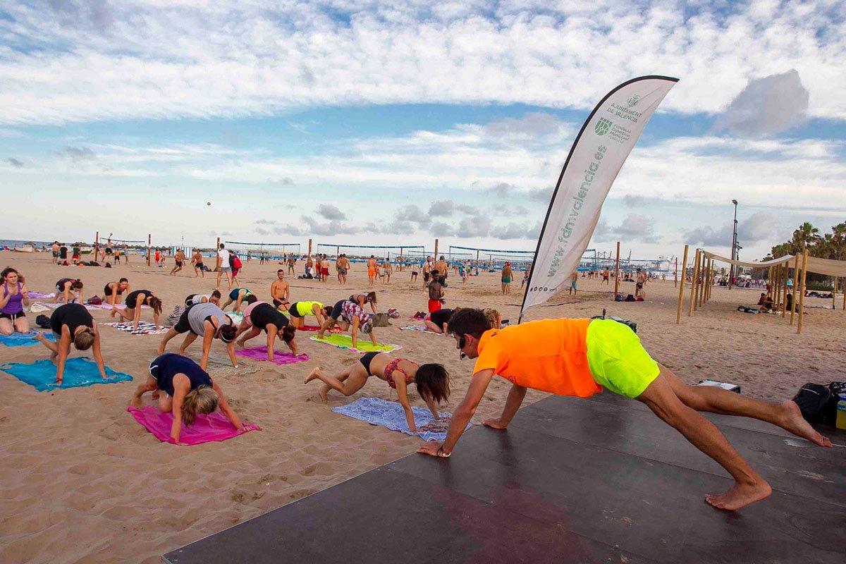 Actividades Deportivas Verano Playa Valencia 5