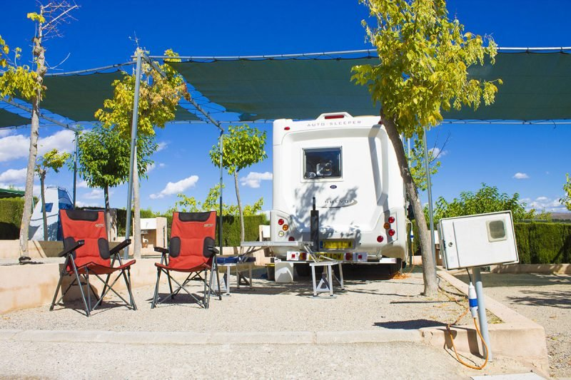 Camping Bungalows Altomira Parcela