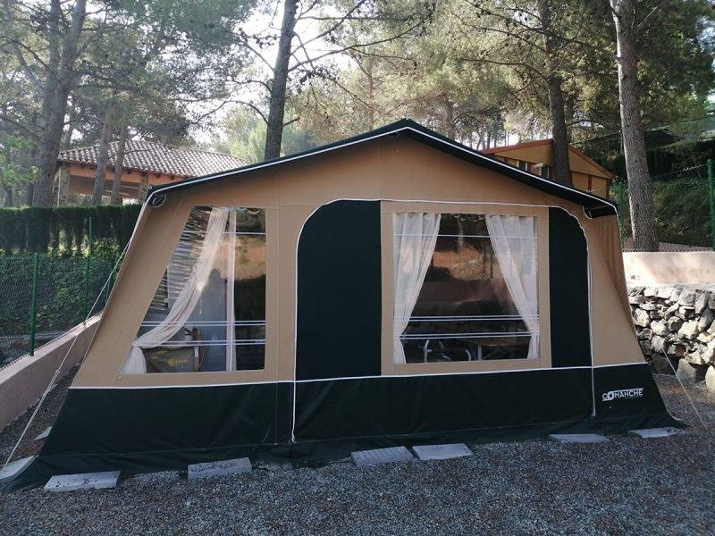 Camping Bungalows Altomira Tienda Comanche