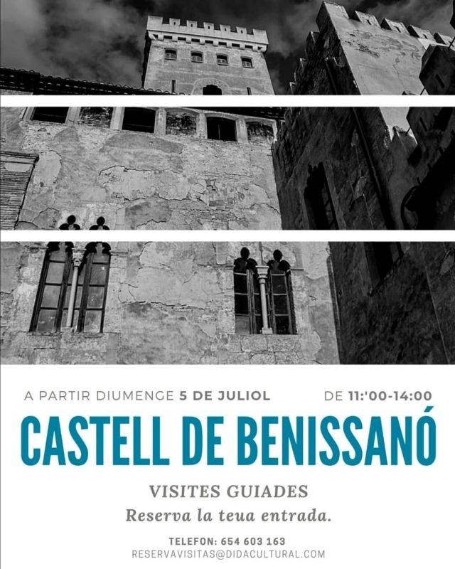 Castillo Benissano Visitas Verano 2020