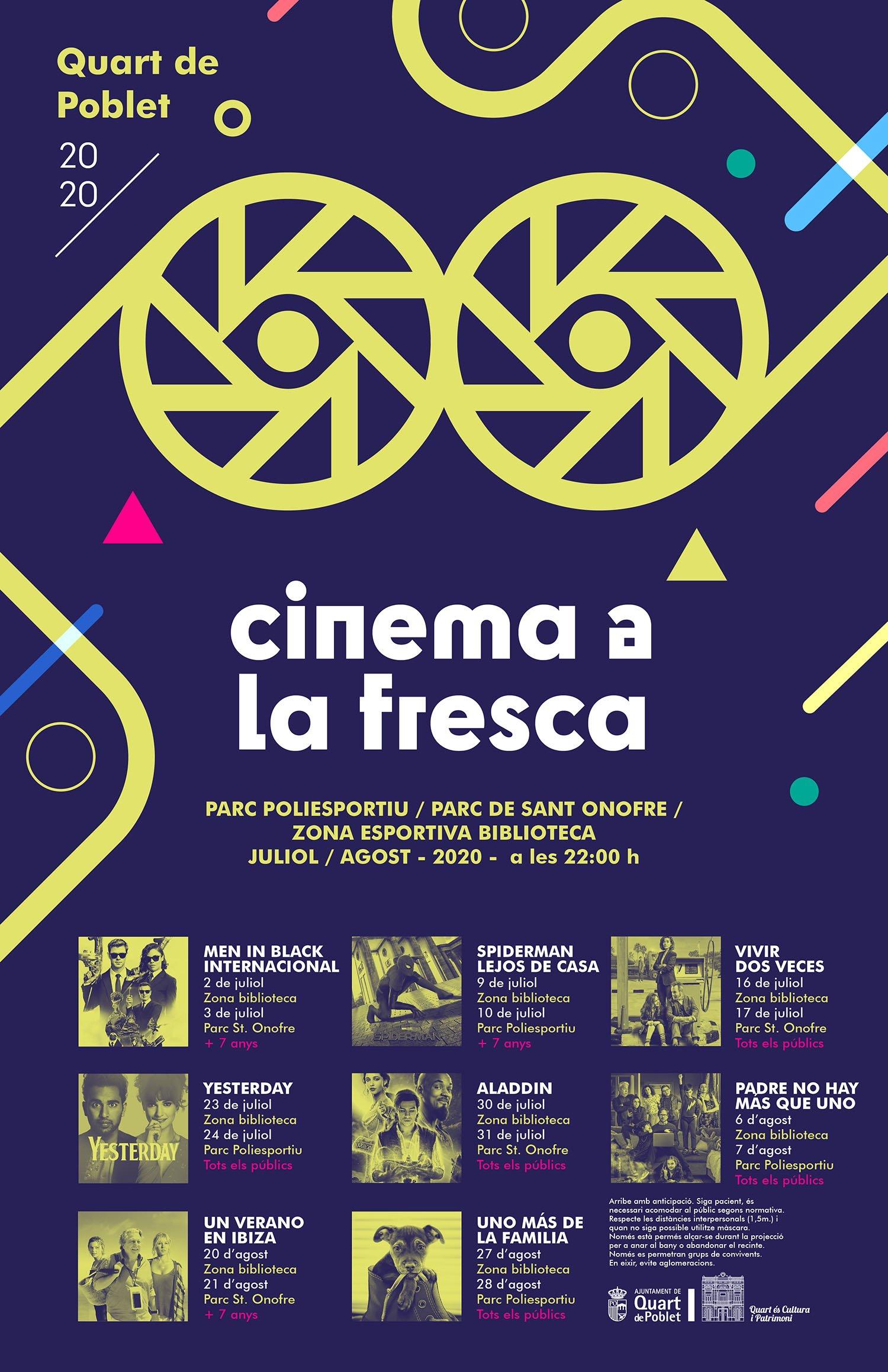 Cine Fresca 2020 Quart Poblet