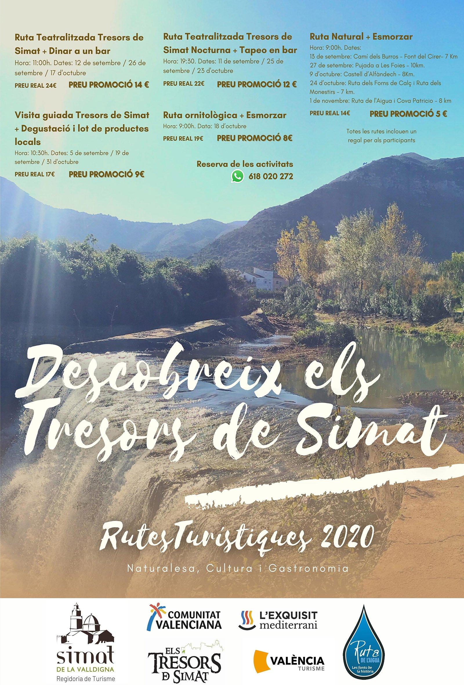 Rutas Culturales Simat Valldigna 2020