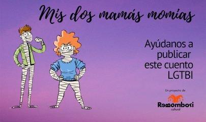 Mis Dos Mamas Momias Banner