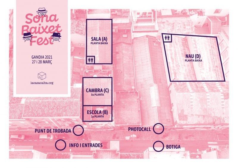 Sona Baixet Fest Gandia 2021 Plano