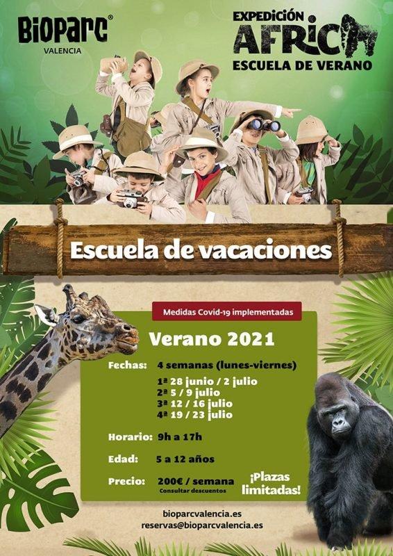 Bioparc Escuela Verano 2021