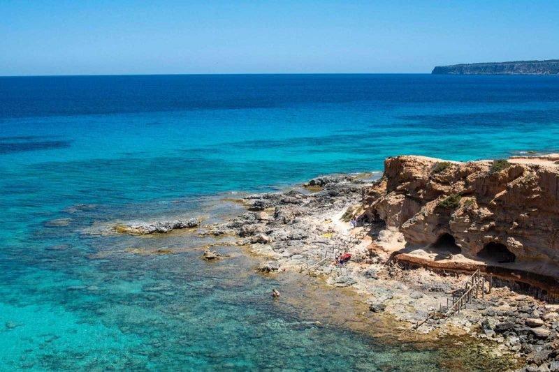 Cala En Baster Formentera