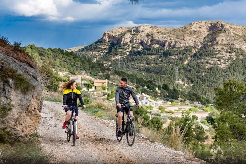 Finestrat Ruta Ciclista Montaña Puig Campana