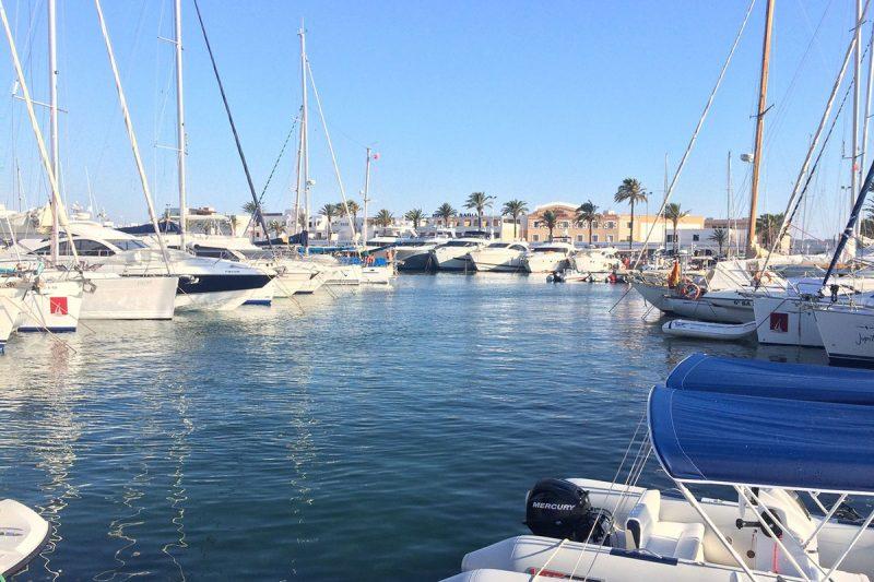 La Savina Formentera puerto barcos