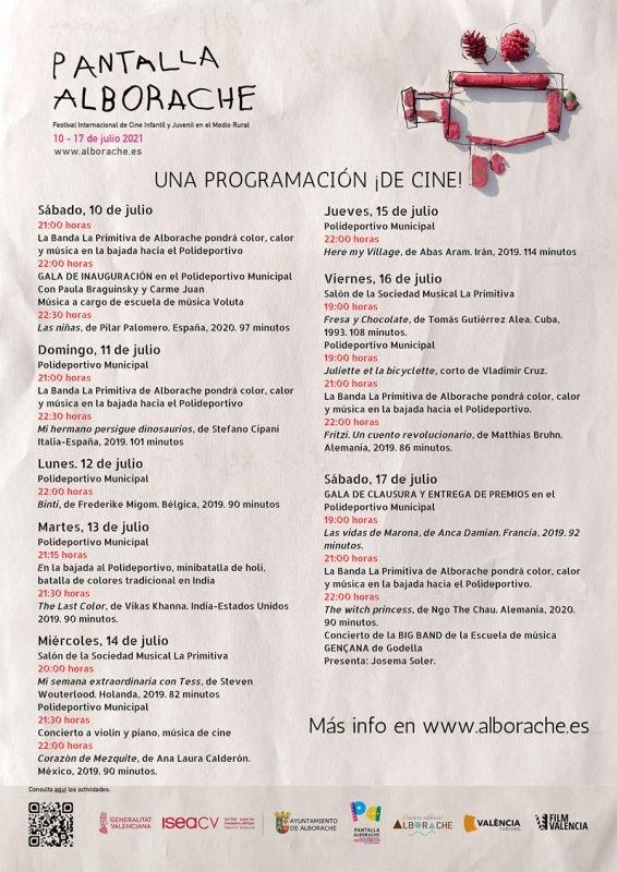 Pantalla Alborache 2021 Programa 1