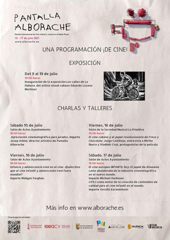 Pantalla Alborache 2021 Programa 2