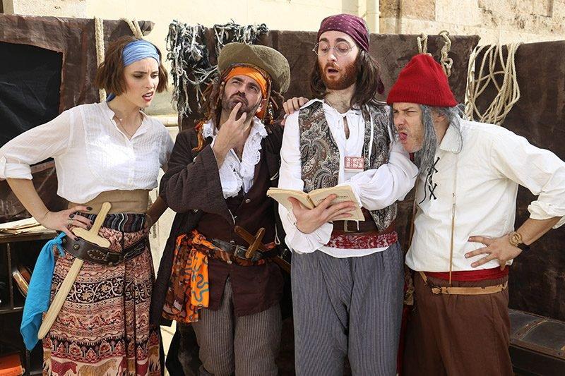 Gran Fira Valencia Cuentos Piratas