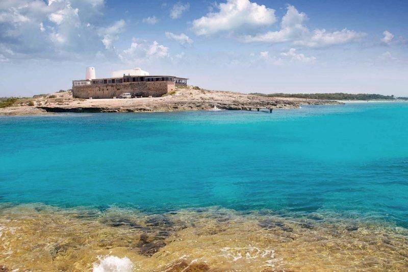 Playa Cavall Borras Formentera